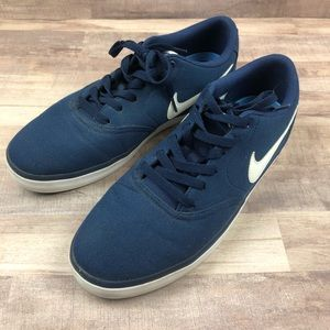 Nike SB Mens Blue Sneakers